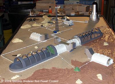 Starship Modeler Red Planet Sci Fi Modeling Contest Entry