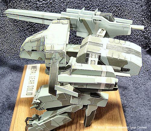 Starship Modeler: 'Legs' Sci-Fi Modeling Contest
